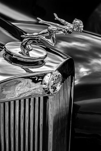 Triumph Hood Ornament