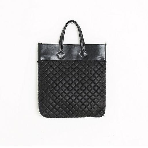 Korea womens shopping mall [REALCOCO] All diamond quilted Eco Bag / Size : FREE / Price : 38 USD #korea #fashion #style #fashionshop #apperal #koreashop #ootd #realcoco #bag #totebag #leatherbag