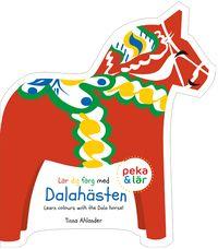 Lär dig färg med Dalahästen (kartonnage)