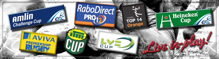 Your gate way to a world of rugby betting #AvivaPrem #RaboDirect #CurrieCup #ITMCup