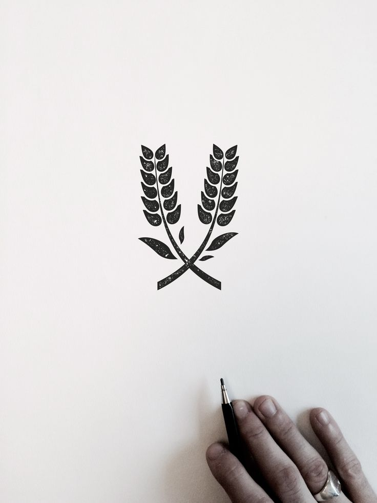 VISLA Graphic - illustration and logo design  --  rice plant