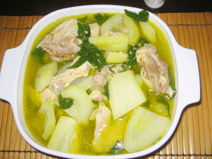 TINOLANG MANOK is one of the best recipes in the country that provides a lot more nutritious, delicious and easy to cook among Filipino foods. It only requires simple and cost efficient ingredients. Lorna:  Instead of papaya, I use chayote, boiling it separately with ginger for a more infused ginger-y taste.