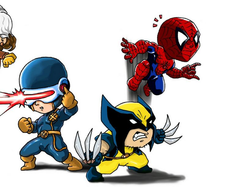Marvel chibi pictures images and photos