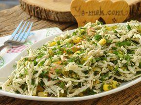 Harika bir salata tarifi... Akşam yemeğini hafif ama aynı zamanda da doyurucu geçmek isteyenler için nefis bir seçim...