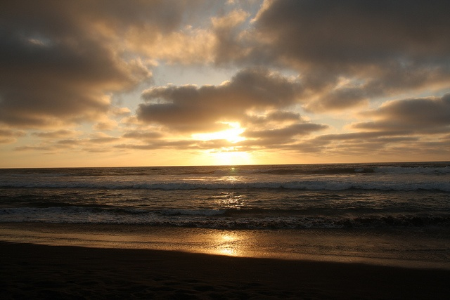 Chilean beach sunsets are the best!