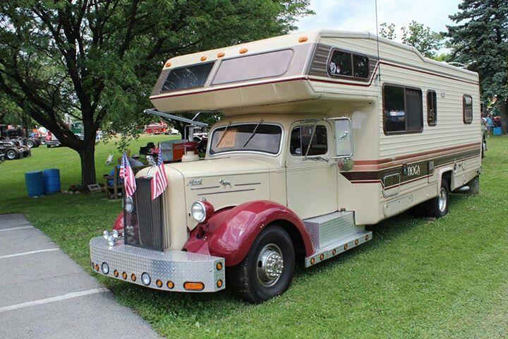 Mack truck campervan caravans and campervans