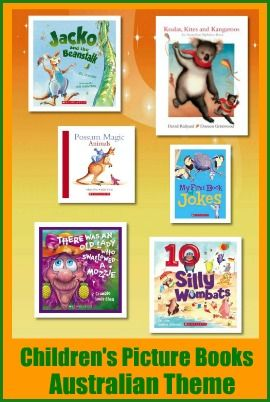 Recent Picture Books for Kids with an Australian Theme by Susan Stephenson, www.thebookchook.com Teachers and librarians often look f...
