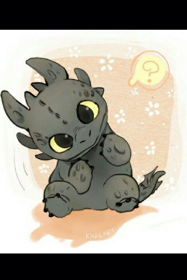 Petit dragon trop chou !!!!!!!!!💯 ️ ️   Dessins mignons ...