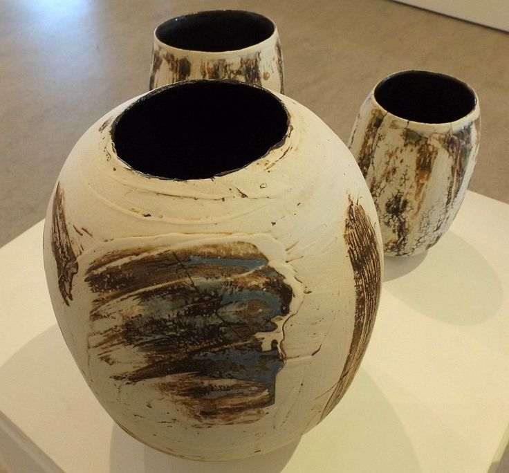 Trenna Langdon - Still + Quiet + Silent - stoneware and porcelain - 2014,  Strathnairn by the Lake exhibition, Belconnen Arts Centre, August-Sept 2014