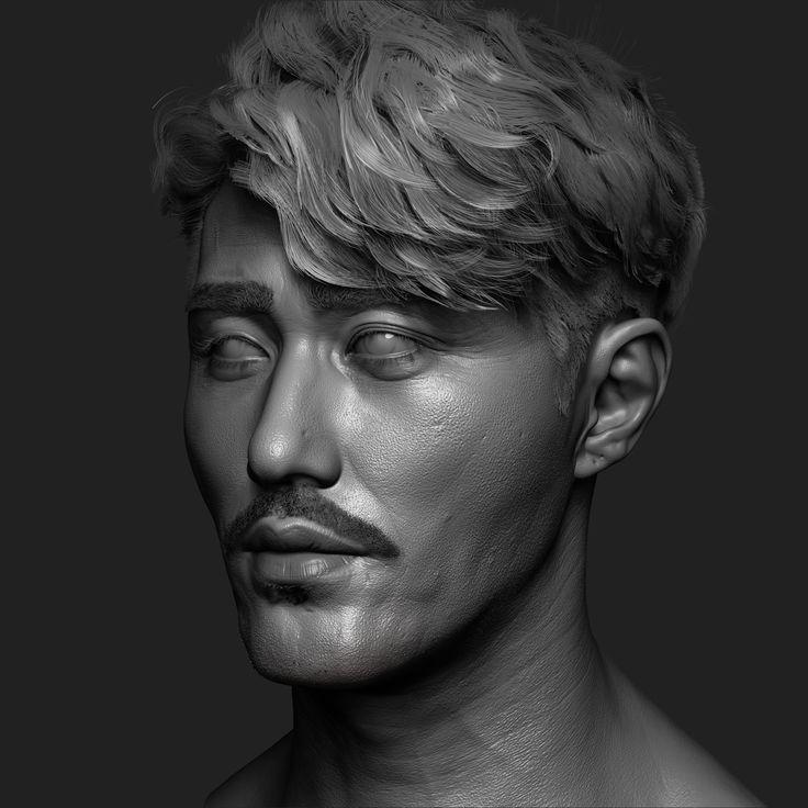 ArtStation - cha Seung Won (zbrush modeling), dahye kim