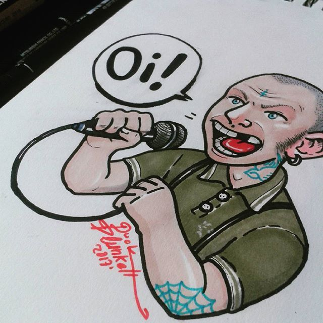 .Oi!. Thinking about do more designs for tshirts. (Sorry, I would do better pics of my drawings, but so many people steal me, and thanks to this people, all my followers can't see my drawings well) thank you :) . . . . . . #illustration #draw#tattoo #chelsea #england #tattoos #traditional #instagood #oldschooltattoo #drawings #drawing#ink #art#instaart #promarker #streetart #stickers #fredperry #fineart#creative #doodle#artbook #illustagram #skingirl #skinhead #skinbyrd #modstyle#mod…