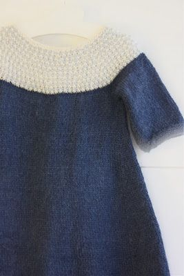 Knitted dress. Pattern link: http://www.pickles.no/impress-dress-for-winter/