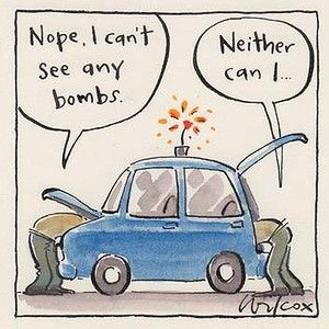 Remember not to lease cars to the defence force.