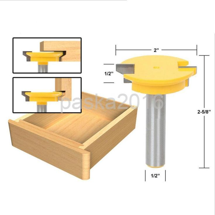 Trim Router Cutter Rail Stile Router Bits Wood-Working Moldings