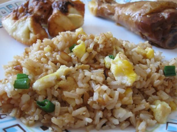 """Best Chinese Fried Rice With Egg:   """"This is just as good as any restaurant. Sometimes we add some cooked chicken to it and make it a complete meal."""" -TXHomemaker"""
