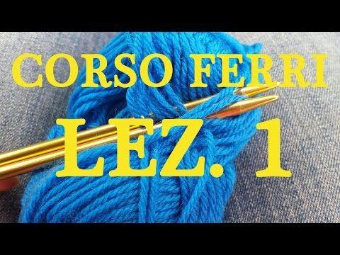 abc della maglia- avviare le maglie - YouTube