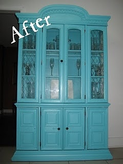 Refinished Furniture Project