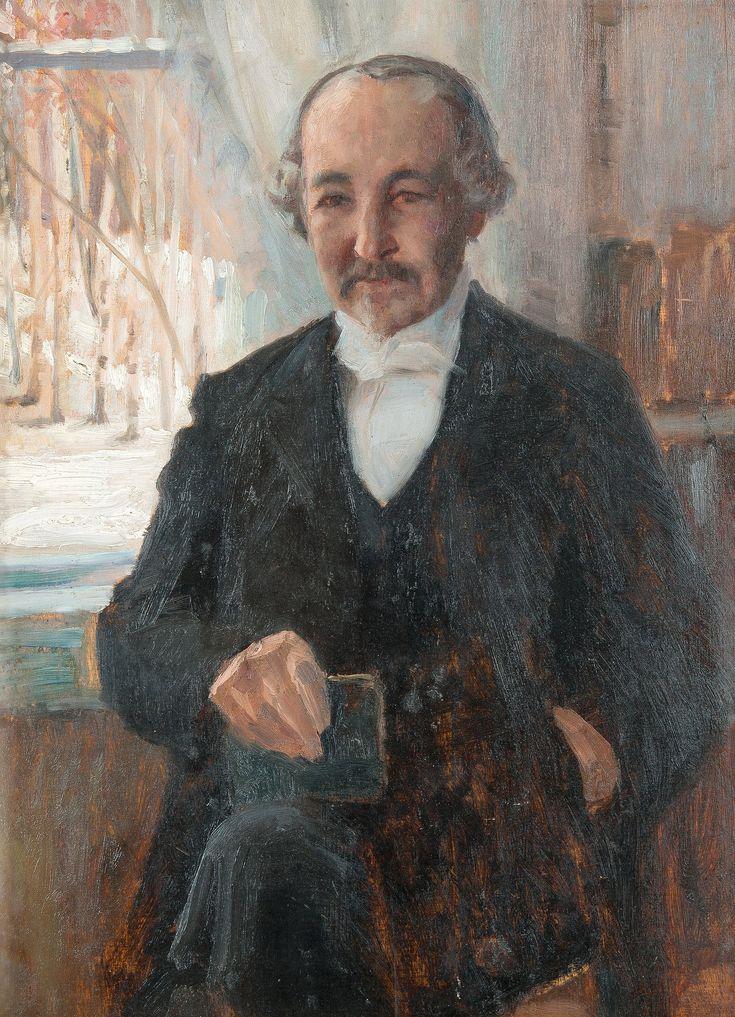 Albert Edelfelt 'Zacharias Topelius'