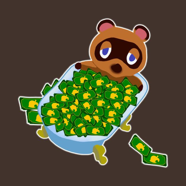 Bell's Bath Tom Nook TShirt