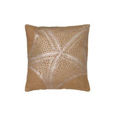LightLiving Starfish Jute Throw Pillow