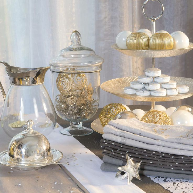 Beautiful Christmas goodies for the table from Maisons du Monde