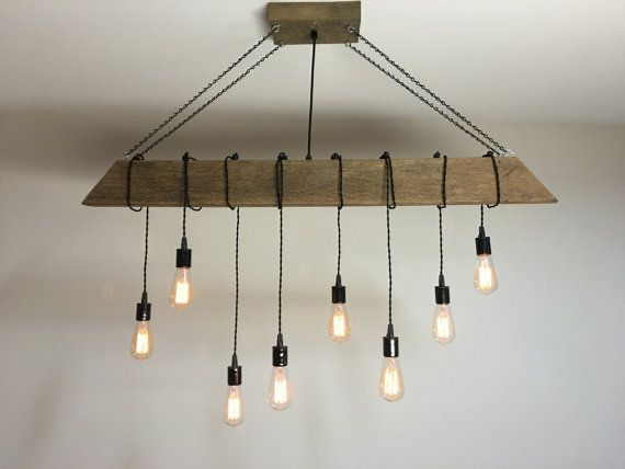 17 best images about barn lighting on pinterest ceiling for Diy wood beam light fixture