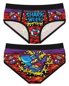 Period-Panties-Shark-Week-Punk-Geek-Underwear-Goth-Undies-Knickers-Fun-Lingerie