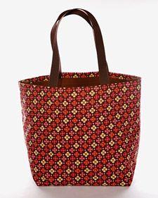 tas maken van duktape, hoe leuk is dat?