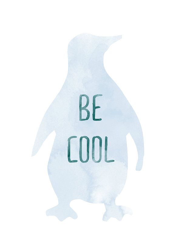 Be cool print by vaporqualquer on Etsy, 15.00 USD {via Sweet Paul} @Maureen Fitzpatrick