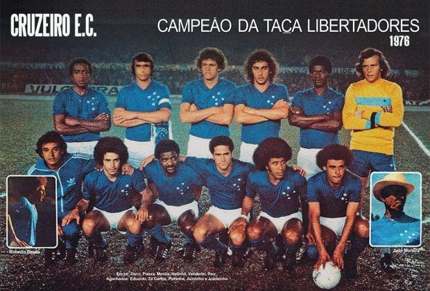 Cruzeiro Campeão da Copa Libertadores 76