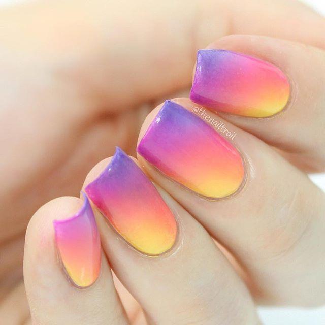 Best 25+ Sunset nails ideas on Pinterest   Pretty nails ...