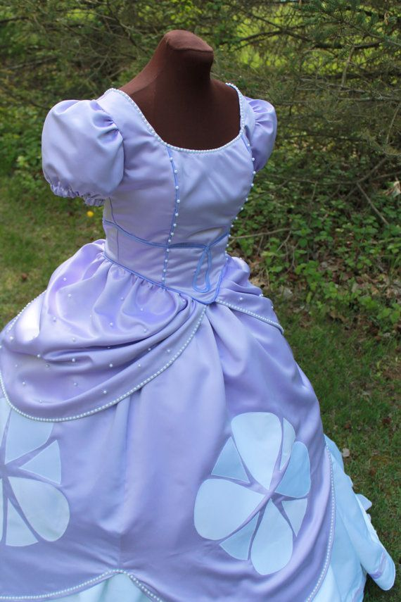 First Princess Ladies Costume Custom Made by correenscdesigns