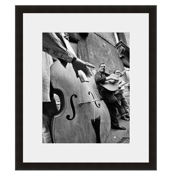Image: Guitar Player Photographer: Seth Wolfson Frame: Black Onyx #music #guitar #viola #band #jazz #blues #bw #harmony #group #art #eFrame