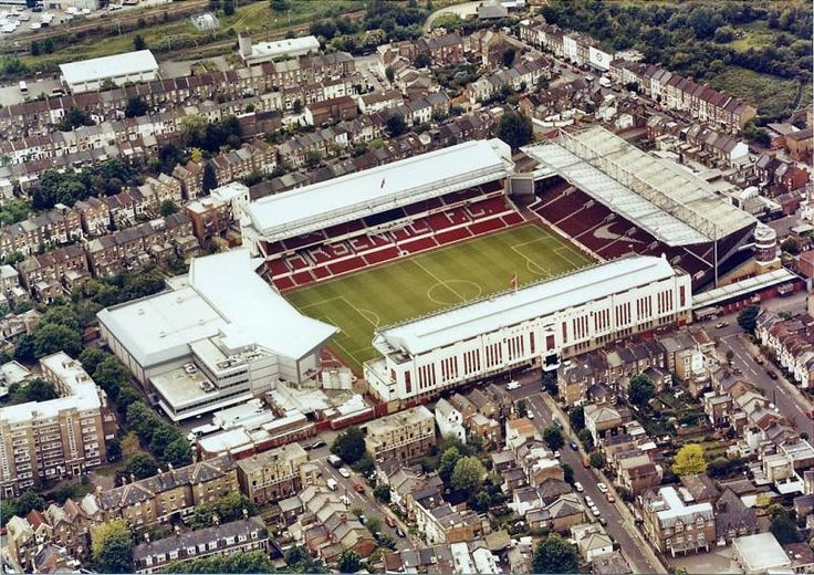 Old Highbury Stadium --Former Stadium for Arsenal Football Club