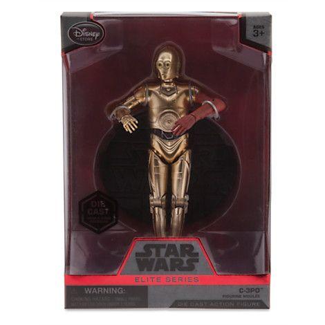 C-3PO Elite Series Die Cast Action Figure - 6 1/2'' - Star Wars: The Force…