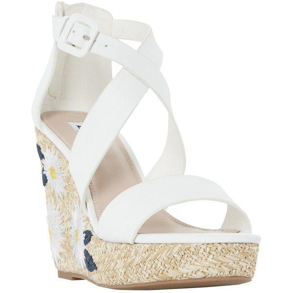 Best 25  White wedge heels ideas on Pinterest | White wedges ...