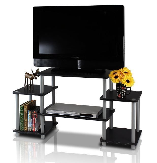 TV Stand Entertainment Center Console Media Furniture Storage Cabinet Home  Wood #Furinno
