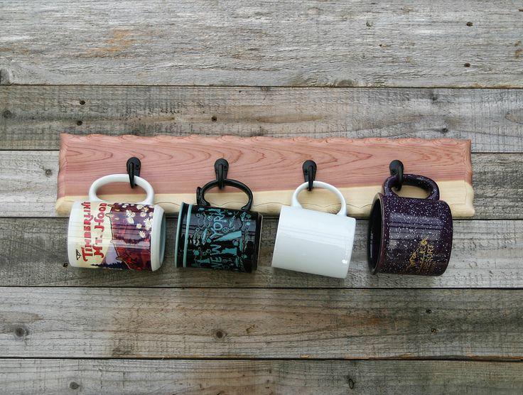 Coffee Mug Holder Cup Rack Coffee Mug Storage Towel Rack Key Hooks