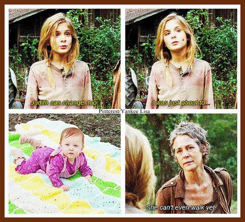 The Walking Dead- I was totally blindsided by this episode!!!! Did not see that coming!