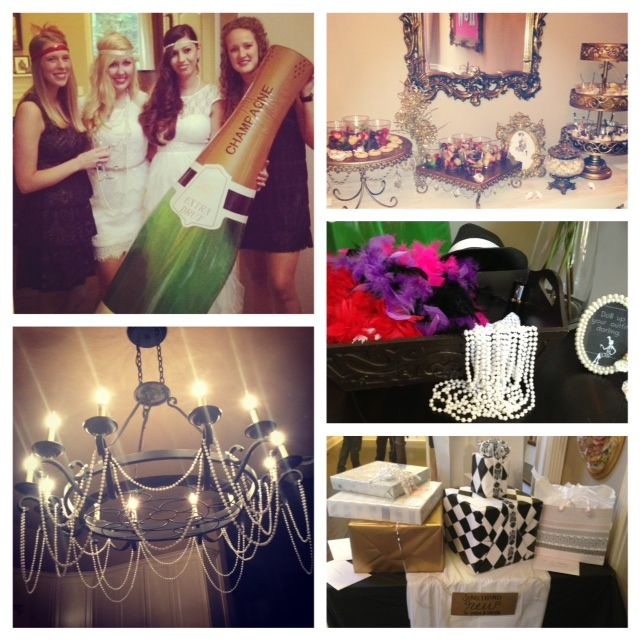 Great Gatsby theme party... I want this for my 30th...