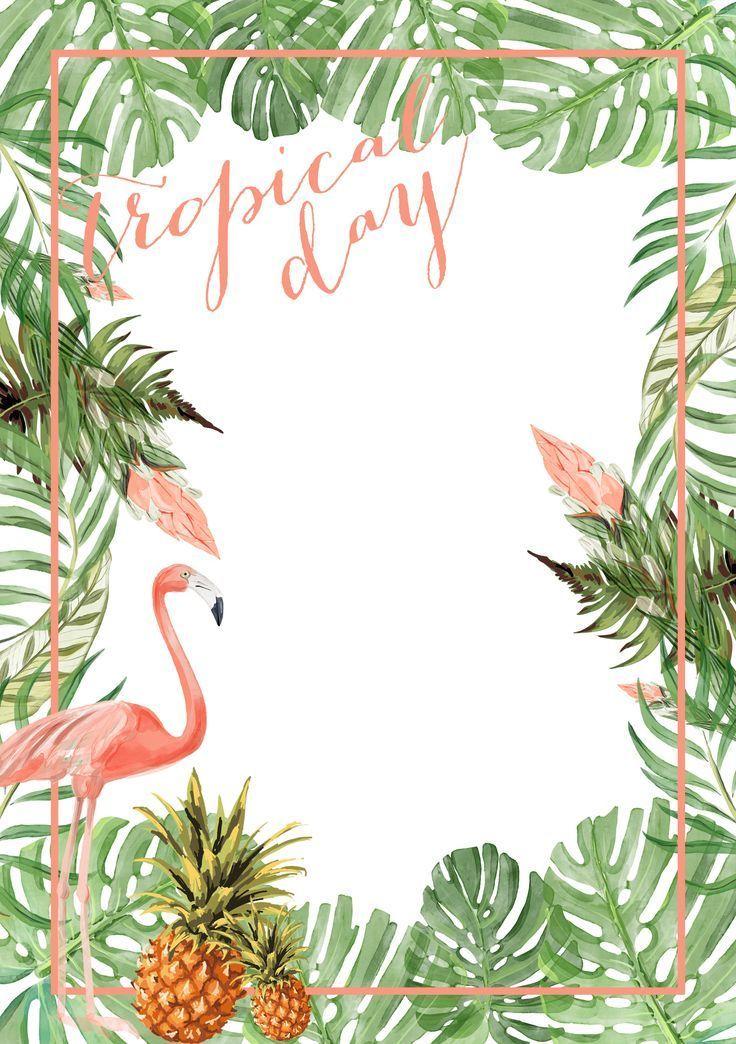 Tropical bachelorette party menu option. | Tropical Wedding Ideas