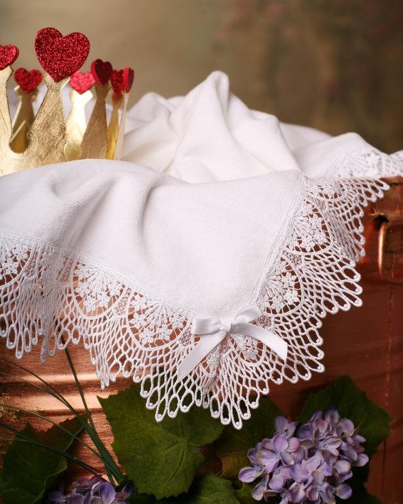 Baptismal towel/blanket