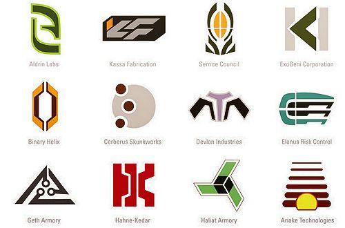 mass effect logos