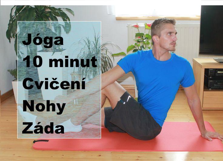 joga 10 minut - protažení / strečink nohou a zad - cviky proti bolesti s...