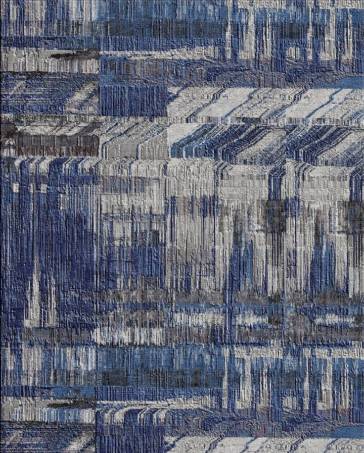 """Category 07: Best Modern Collection """"UNSTRING by Kavi"""" Jaipur Rugs Company PVT. LTD. (IN) http://www.jaipurrugsco.com/"""