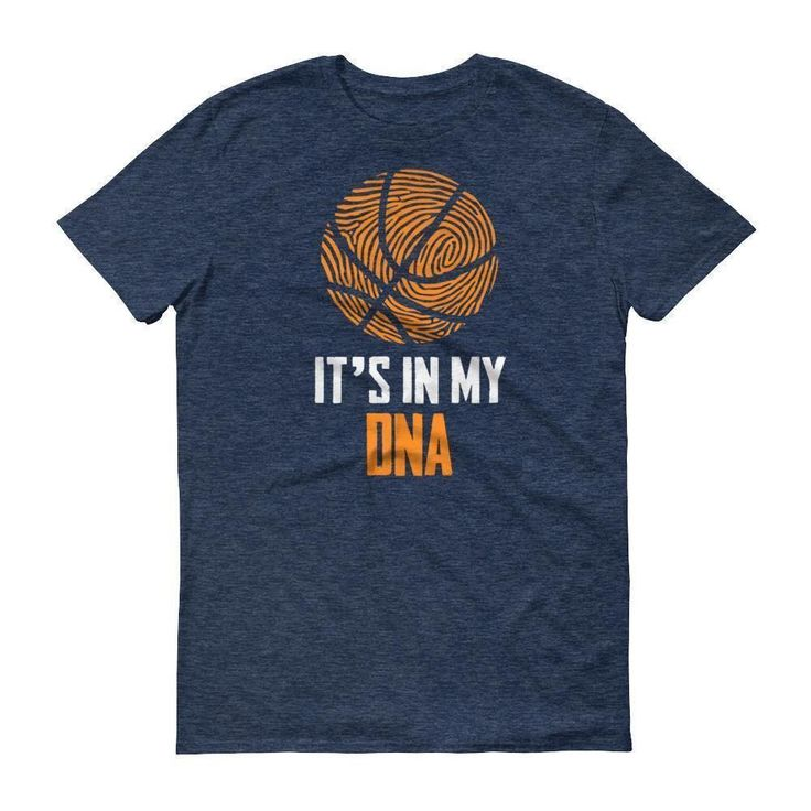 It Is In My DNA Fingerprint Basketball Funny T-Shirt