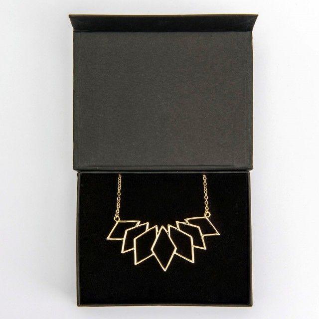 Edgy - Necklace - Geometric - TEMA #sparv #necklace #jewellery #jewelry #geometric #nordicdesign #nordicdesigncollective #nordic #scandinavian #designers
