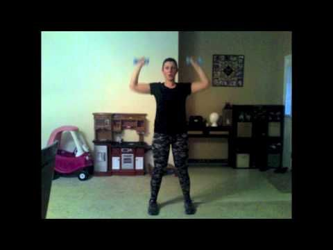 Total Body Cardio Fix (Day 1) - YouTube