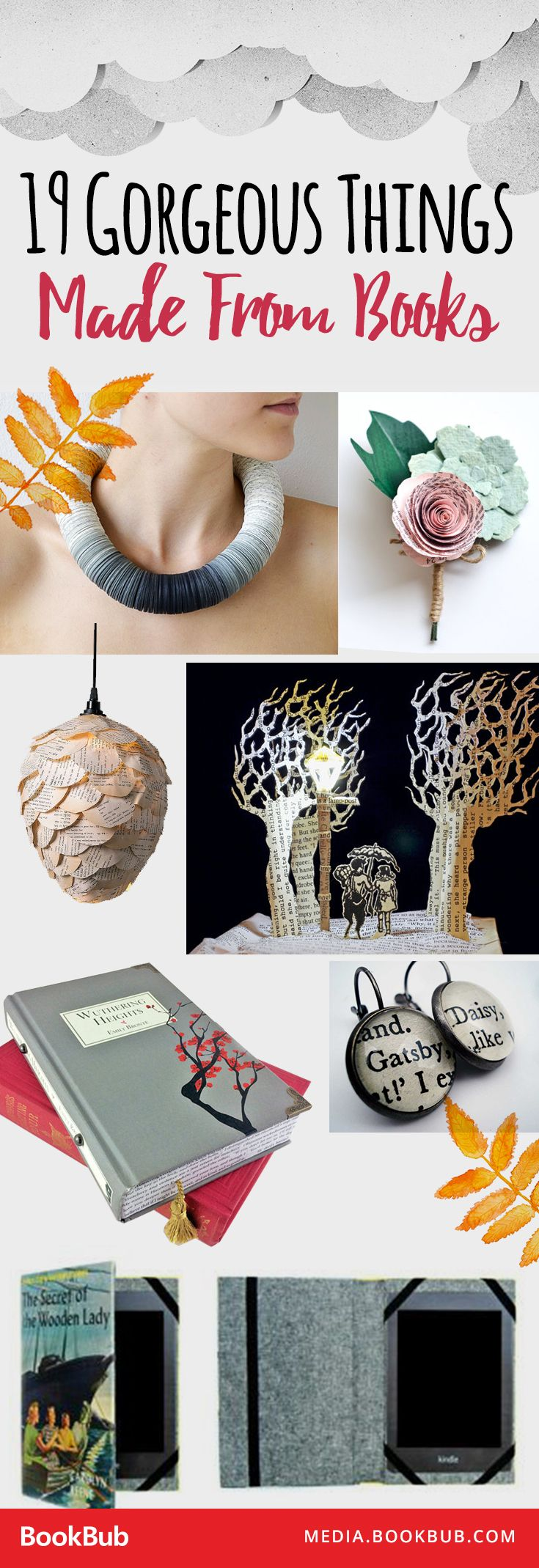 34 best bookish mothers day gift ideas images on pinterest book 19 insanely gorgeous things made from books negle Choice Image