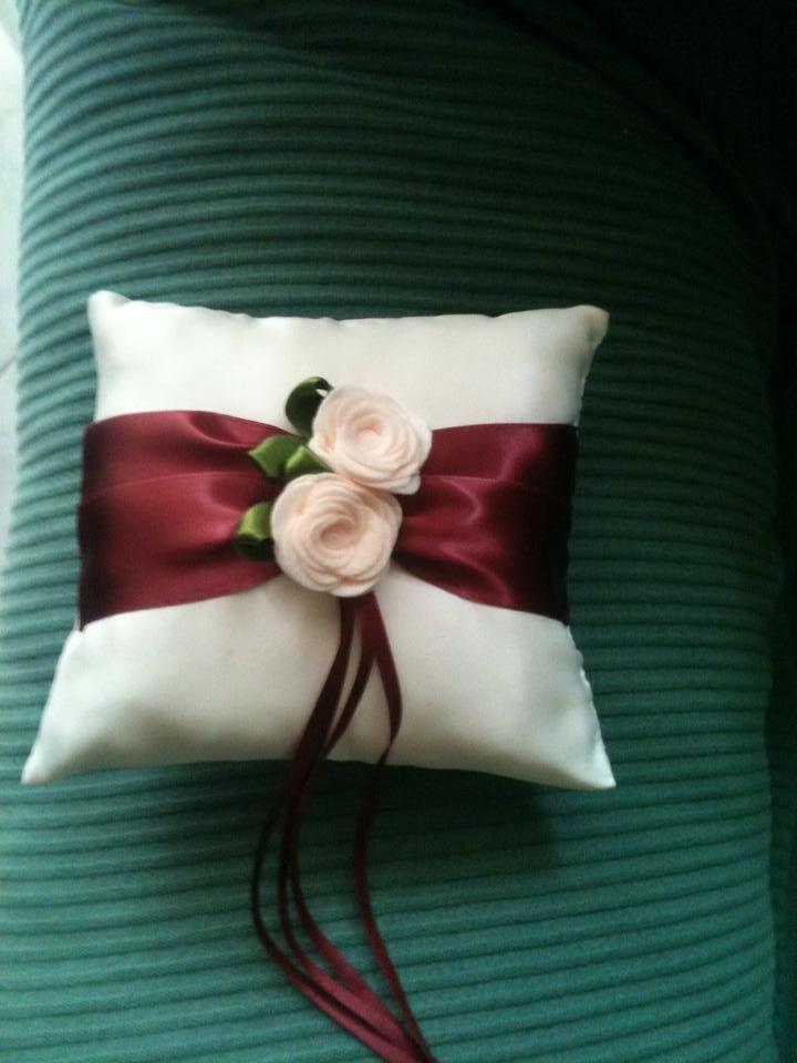 ring bearer pillow (cuscino fedi)